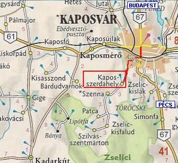szenna térkép Simson Klub Magyarország